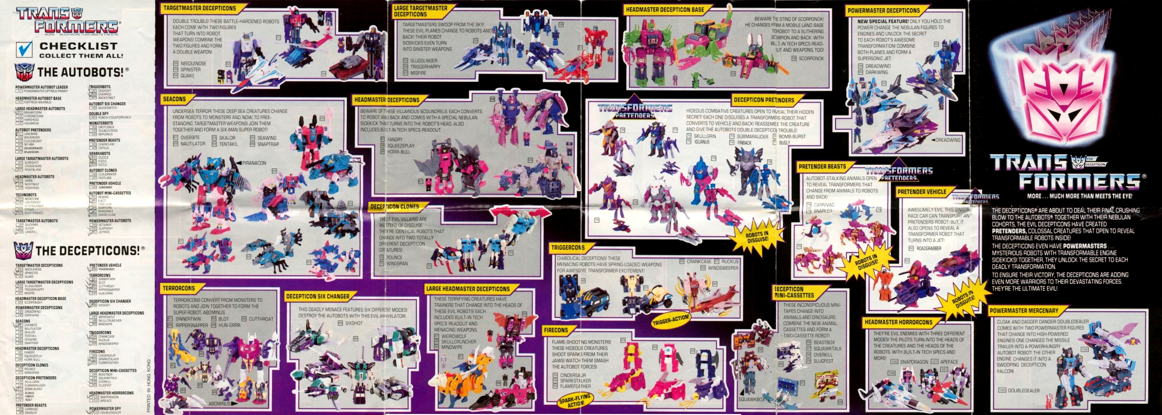 Botch The Crab Transformers Catalogs 1988 Catalog Side B