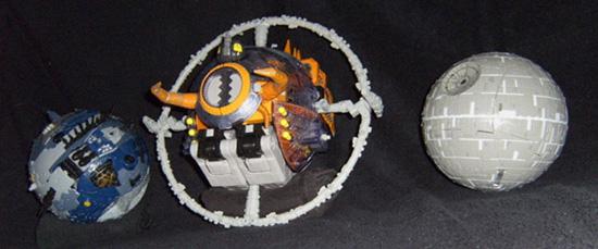 Botch The Crab Unicron Vs Death Star Vs Cybertron